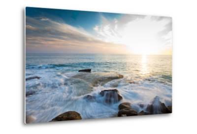 Laguna Beach Shore Break and Waves-Ben Horton-Metal Print