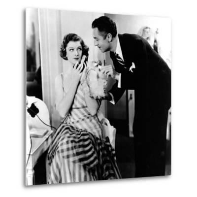 The Thin Man, Myrna Loy, William Powell, 1934--Metal Print