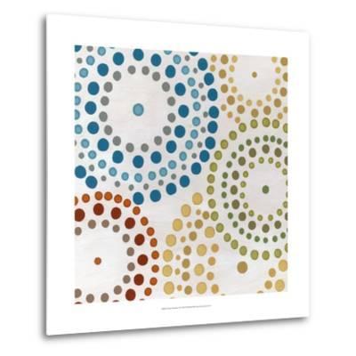 Mosaic Mandalas II-Erica J^ Vess-Metal Print