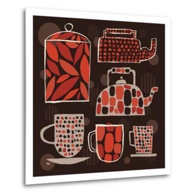 Spotted Kitchen II-Mo Mullan-Metal Print