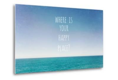 Where Is Your Happy Place-Susannah Tucker-Metal Print
