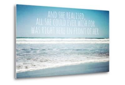 And She Realised, All She Could Ever Wish for Was Right Here in Front of Her-Susannah Tucker-Metal Print