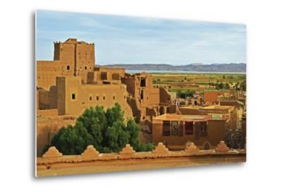 Kasbah Taourirt, Ouarzazate, Morocco, North Africa, Africa-Jochen Schlenker-Metal Print