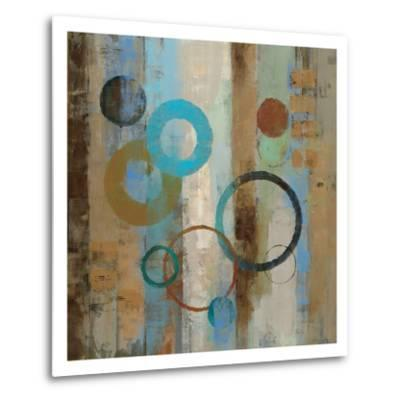 Bubble Graffiti I-Silvia Vassileva-Metal Print