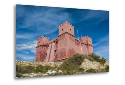 St. Agatha Tower (Red Keep) (Red Tower), Malta, Europe-Michael Runkel-Metal Print