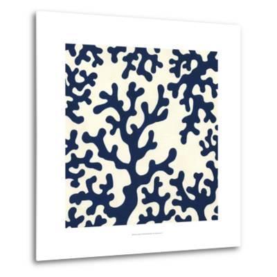 Ocean Motifs I-Erica J^ Vess-Metal Print
