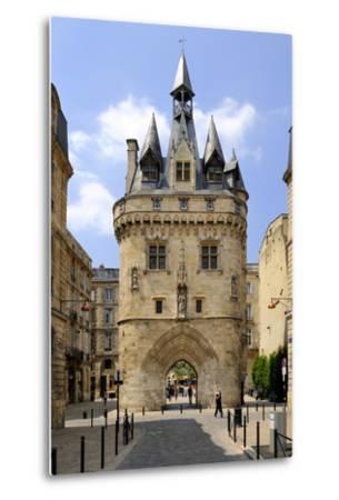 Porte Cailhau, Bordeaux, UNESCO World Heritage Site, Gironde, Aquitaine, France, Europe-Peter Richardson-Metal Print