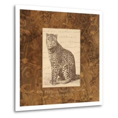 Panther-Hugo Wild-Metal Print