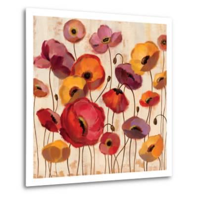 Sunrise Anemones-Silvia Vassileva-Metal Print