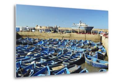 Port, Essaouira, Atlantic Coast, Morocco, North Africa, Africa-Jochen Schlenker-Metal Print