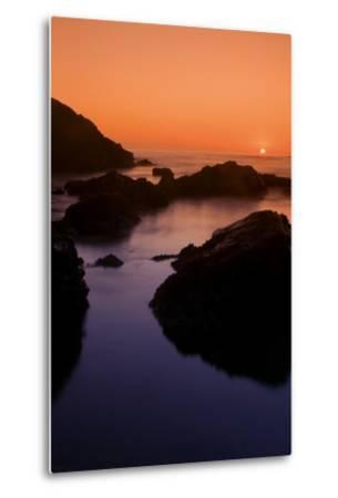 Sonoma Sunset-Vincent James-Metal Print