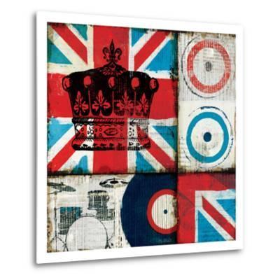 British Rock II-Mo Mullan-Metal Print