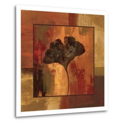 October Leaf II-Silvia Vassileva-Metal Print