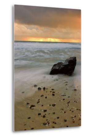 Sunset Rocks-Vincent James-Metal Print