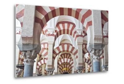 Catedral Mosque of Cordoba, Interior, Cordoba, Andalucia, Spain-Rob Tilley-Metal Print
