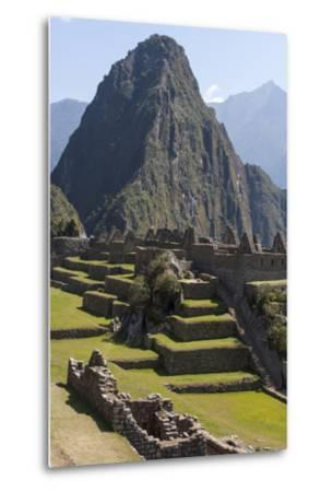 Machu Picchu Is the Site of an Ancient Inca City, at 8,000 Feet-Jonathan Irish-Metal Print