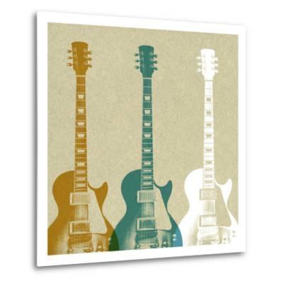 Guitars 3-Stella Bradley-Metal Print