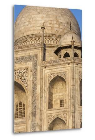 The Taj Mahal, a Mausoleum Built in Memory of Shah Jahan's Third Wife-Jonathan Irish-Metal Print