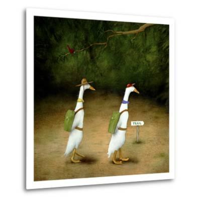 Backquackers-Will Bullas-Metal Print