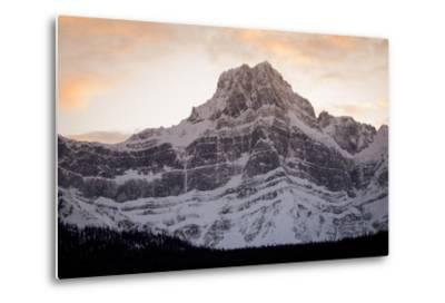 The Imposing North Face of Howse Peak in the Waputik Range of the Canadian Rocky Mountains-Cory Richards-Metal Print