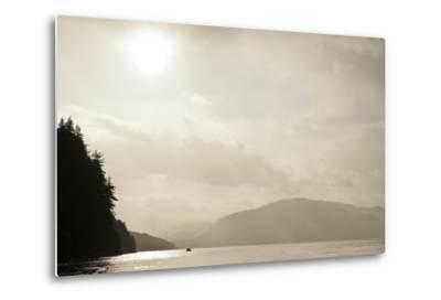 Sunrise Rays Above the Inian Islands-Ralph Lee Hopkins-Metal Print