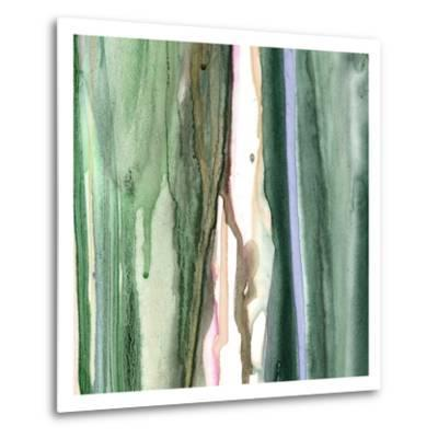 Spring Green Splash A-Tracy Hiner-Metal Print