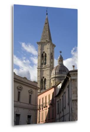 A Church in Sulmona, Italy-Scott S^ Warren-Metal Print