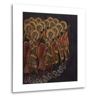 Procession of Armed Angels-Guariento Di Arpo-Metal Print