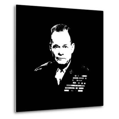 Vector Artwork of Lieutenant General Lewis Burwell Chesty Puller-Stocktrek Images-Metal Print