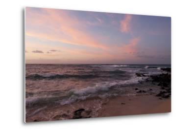 Sunrise on the Beach at Poipu Beach-Marc Moritsch-Metal Print