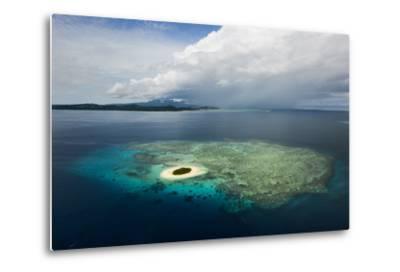 Coral Reefs and Islets Off Nadi Island-Mattias Klum-Metal Print