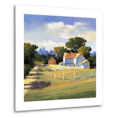 Barns on Greenbrier VI-Max Hayslette-Metal Print
