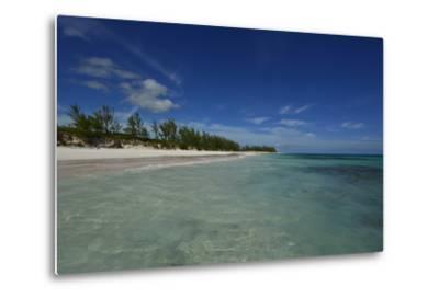 Tranquil Waters on Eleuthera Beach-Raul Touzon-Metal Print