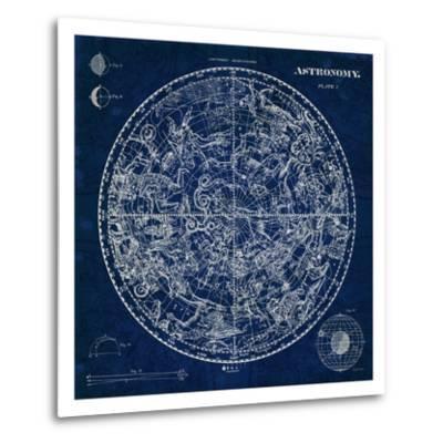Celestial Blueprint-Sue Schlabach-Metal Print