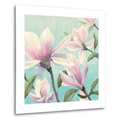Southern Blossoms I Square-James Wiens-Metal Print