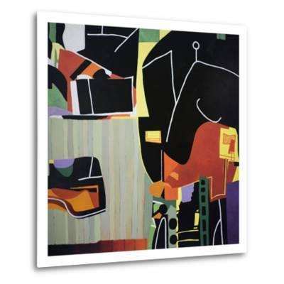 Gardens of the Mind 81-Max Hayslette-Metal Print