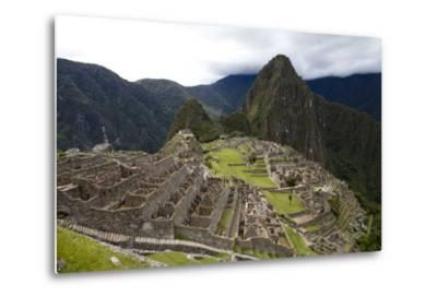 The Ruins At Machu Picchu-Kent Kobersteen-Metal Print