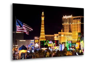 The Strip - Las Vegas - Nevada - United States-Philippe Hugonnard-Metal Print