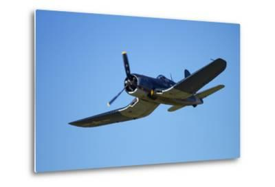 Goodyear Corsair FG-1D 'Whispering Death' Fighter Bomber-David Wall-Metal Print