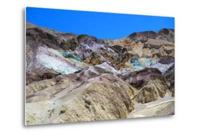 Artist's Palette - Death Valley National Park - California - USA - North America-Philippe Hugonnard-Metal Print
