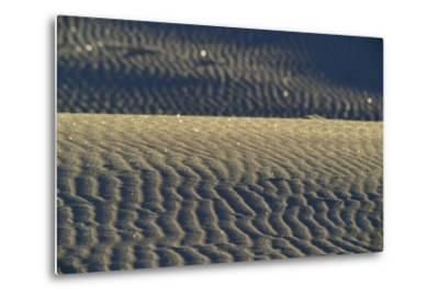 Reflections of Sunlight in Gypsum Sand Dunes-Raul Touzon-Metal Print