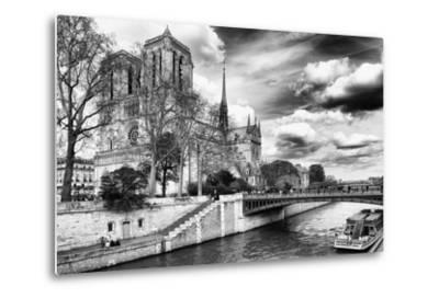 Notre Dame Cathedral - Paris - France-Philippe Hugonnard-Metal Print