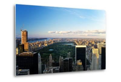 Central Park - Sunset - Manhattan - New York City - United States-Philippe Hugonnard-Metal Print