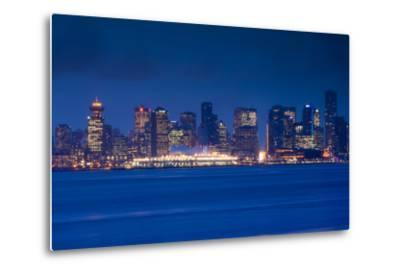 City View Form North Vancouver, British Columbia, Canada-Walter Bibikow-Metal Print