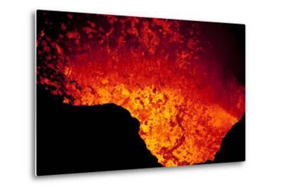 Lava Lake At Marum Crater-Ulla Lohmann-Metal Print