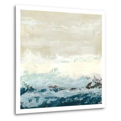 Coastal Currents I-Erica J^ Vess-Metal Print
