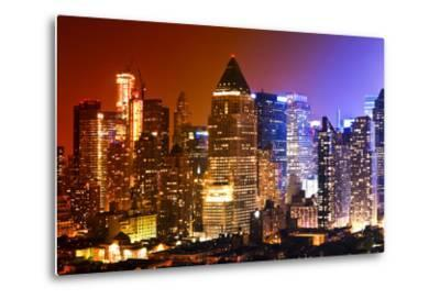 Buildings and Structures - Landscapes - Times Square - Manhattan - New York City - United States-Philippe Hugonnard-Metal Print