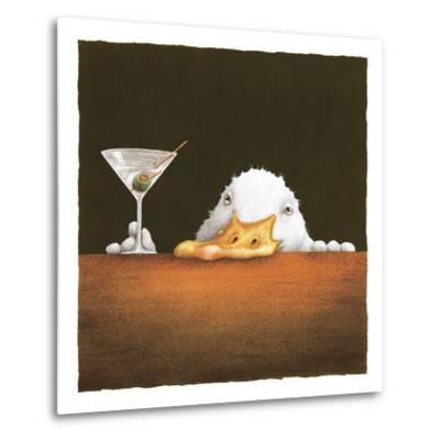 The Bar Bill-Will Bullas-Metal Print
