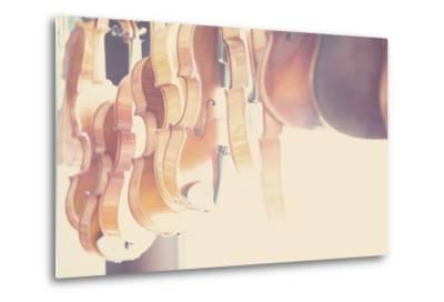 The Violin-Laura Evans-Metal Print