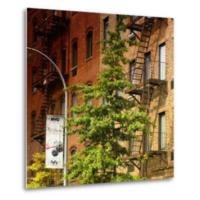 Buildings - Stairs - Emergency - New York City - United States-Philippe Hugonnard-Metal Print
